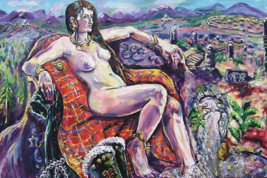 Druidess, Scotland c207AD