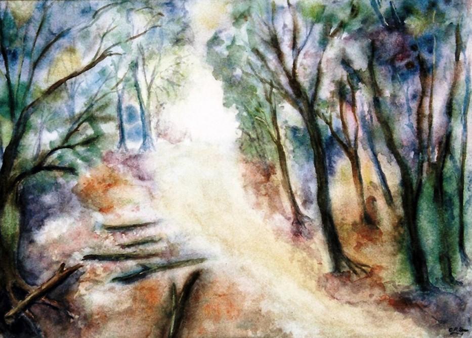 Path Thru' The Woods