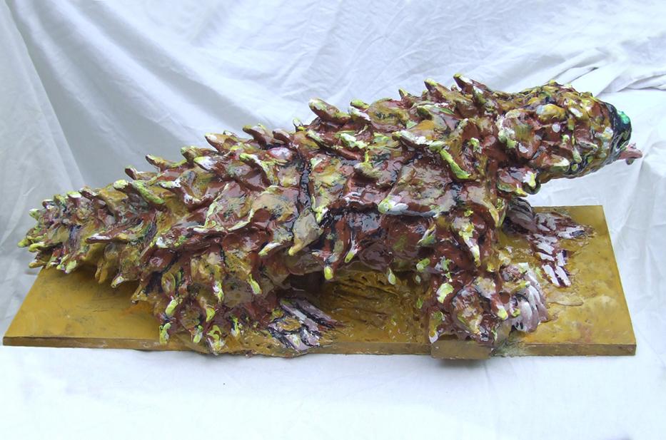 Pangolin sculpture